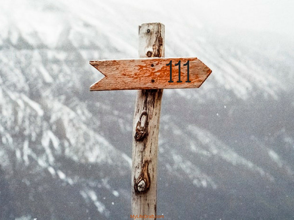 What is the meaning of the number 111 in Numerology?