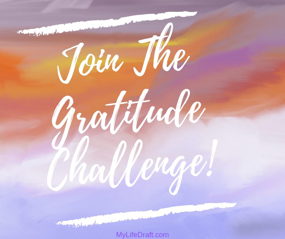 Join The Gratitude Challenge!