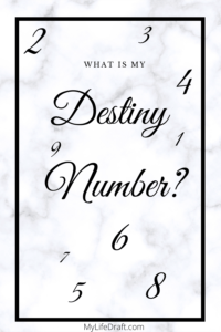 Do You Know What Your Destiny Number is in Numerology