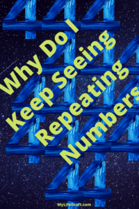Are you seeing repeated number sequences? What does it mean?