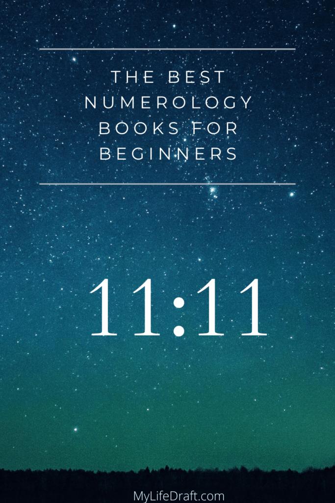 Numerology books , star sky 11:11